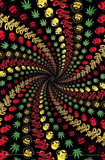"""Cheech & Chong Spiral Mini Poster 11"""" x 17"""""""