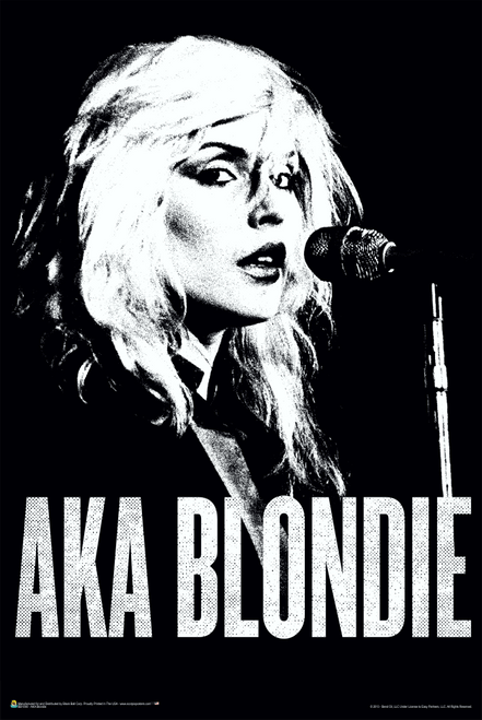 "AKA Blondie Poster 24"" x 36"""