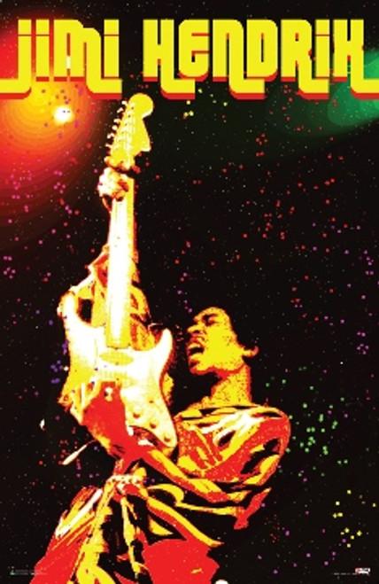 Jimi Hendrix - Voodoo Poster 24in x 36in Image