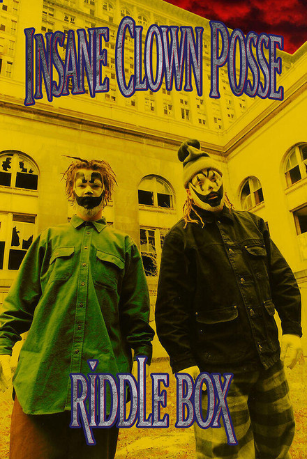 """ICP - Riddle Box Poster 24"""" x 36"""""""