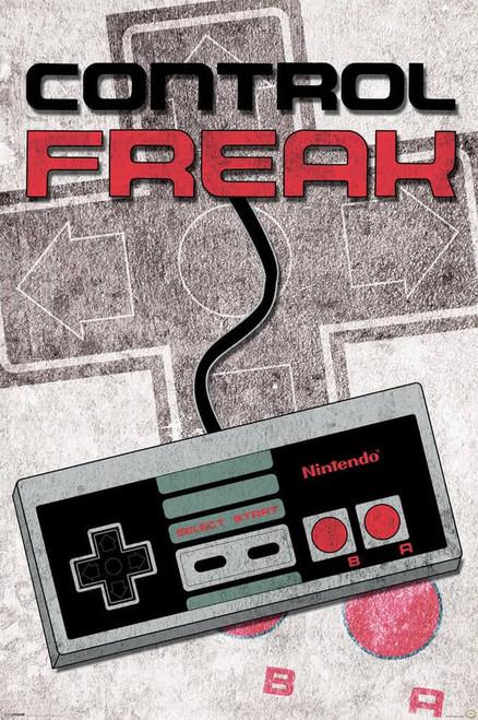 "Nintendo - Control Freak Poster 24"" x 36"""