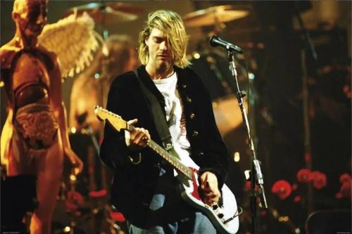 "Kurt Cobain - Guitar Solo Poster 36"" x 24"""