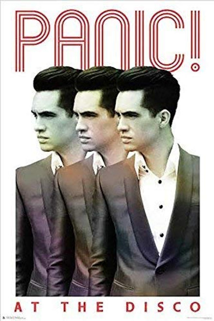 Panic! At The Disco Brendon Repeat Poster (24x36) Image