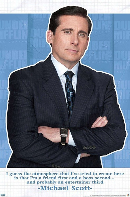 """The Office - Michael Scott Friend Quote Poster - 22.375"""" x 34"""""""