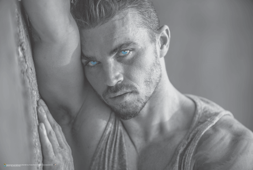 """Sexy Steely Blue Eyes Poster 36"""" x 24"""""""