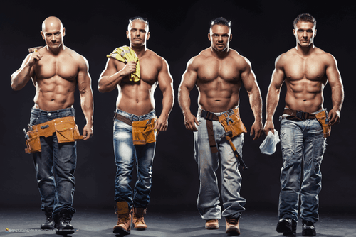 """The Construction Crew Poster 36"""" x 24"""""""