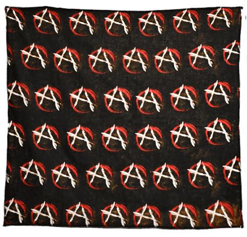"Bandana - Anarchy - 21"" x 21"" - Cotton"
