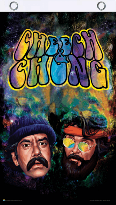 Cheech & Chong Smoke Fly Flag