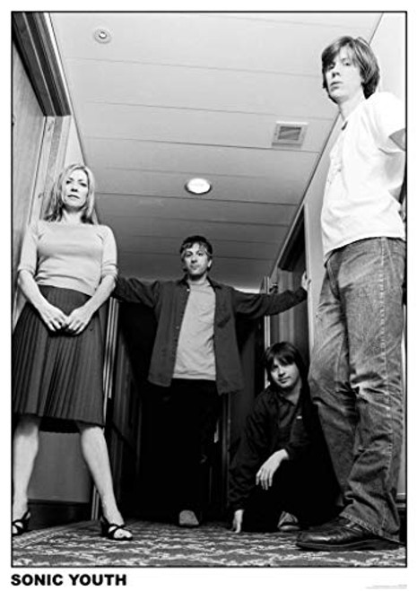 Sonic Youth Amsterdam Music Poster 23.5 x 33 inch