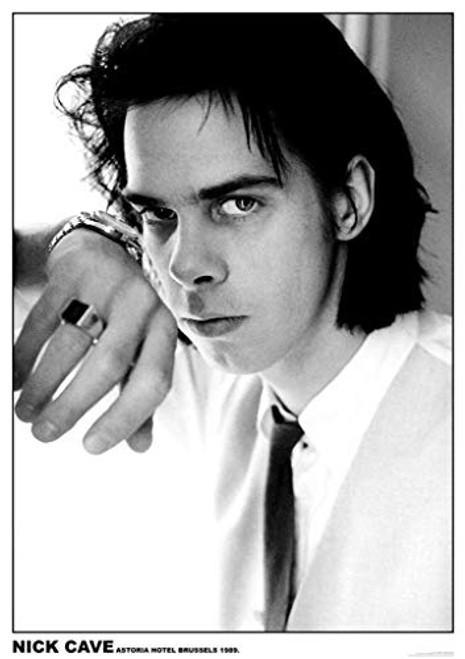 Nick Cave Astoria Hotel Brussels 1989 Music Poster 23.5 x 33 inch