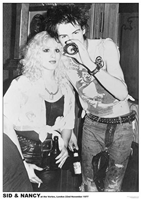"Sid & Nancy Vortex London 77 Poster 23.5"" x 33"""