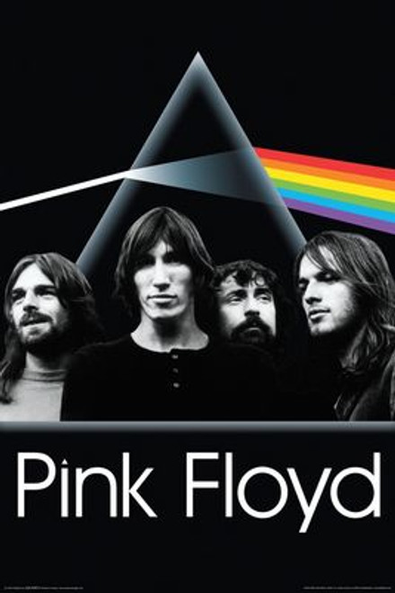 "Pink Floyd - Dark Side Group Poster 24"" X 36"" Image"