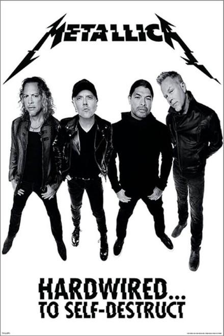 "Metallica - Hardwired Poster - 24"" x 36"""