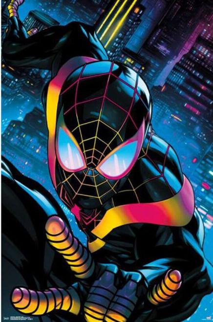 "Spider-Man - Miles Neon Poster - 22.375"" x 34"""