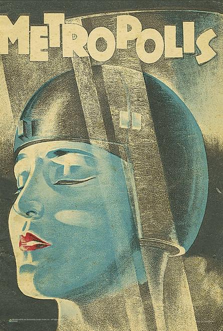 """Metropolis Movie Mini Poster 12"""" x 18"""""""