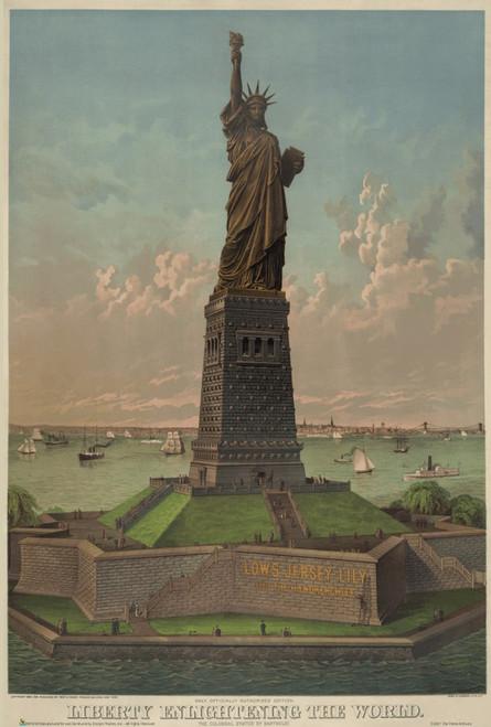 "Liberty Enlightening the World Mini Poster 12"" x 18"""