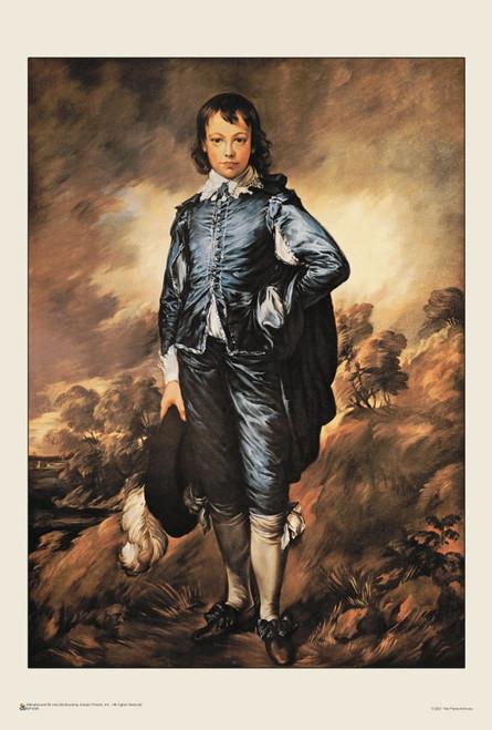 "The Blue Boy by Thomas Gainsborough Mini Poster 12"" x 18"""