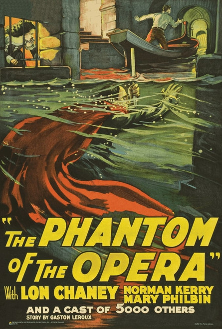 "The Phantom of the Opera 1925 Film Mini Poster 12"" x 18"""