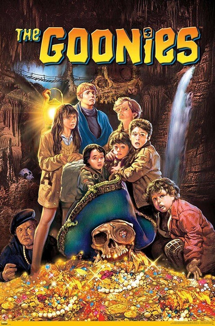 """The Goonies One Sheet Poster - 22.375"""" x 34"""""""