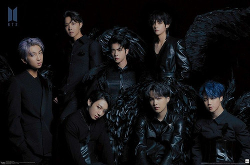"""BTS - MOS7 - Wings Poster - 34"""" x 22.375"""""""