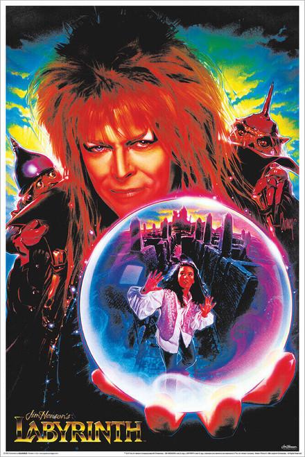 "Labyrinth - Non-Flocked Blacklight Poster 24"" x 36"""