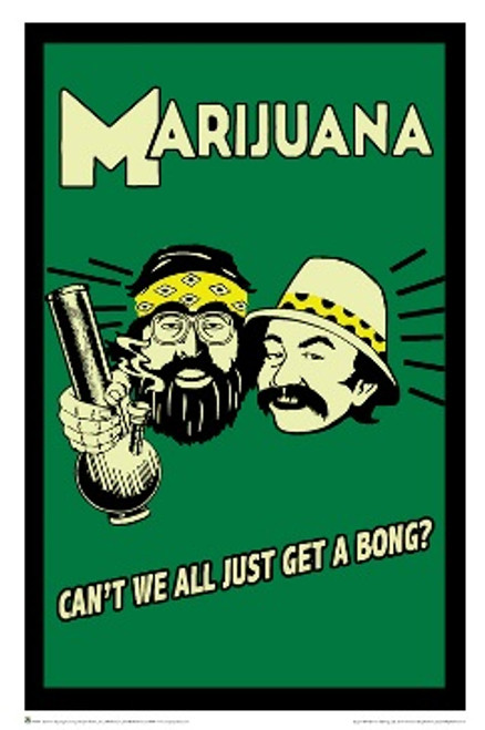 Cheech & Chong - Can't We All Poster 24in x 36in Image