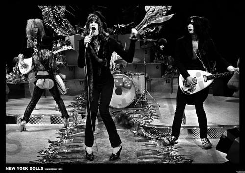 Art-I-Ficial New York Dolls Hilversum 1973 Music Poster 33.5x23 inch
