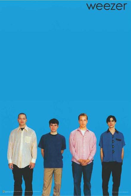 "Weezer Blue Poster 24"" x 36"""