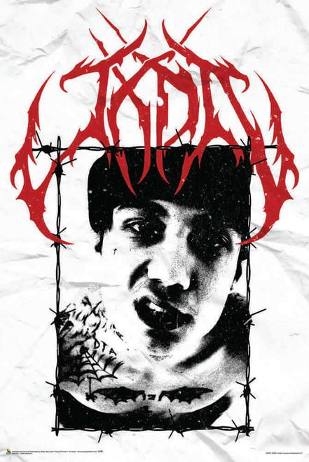 "JXDN - Barbwire Poster 24"" x 36"""