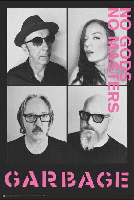 "Garbage - No Gods No Masters Poster 24"" x 36"""
