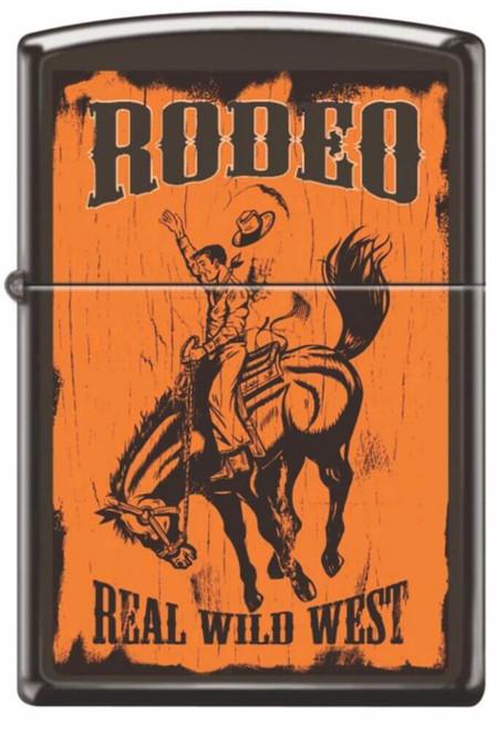 Rodeo Brown Matte Zippo Lighter