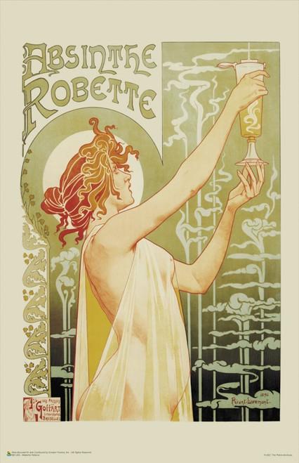 "Absinthe Robette by Henri Privat-Livemont Poster 11"" x 17"""
