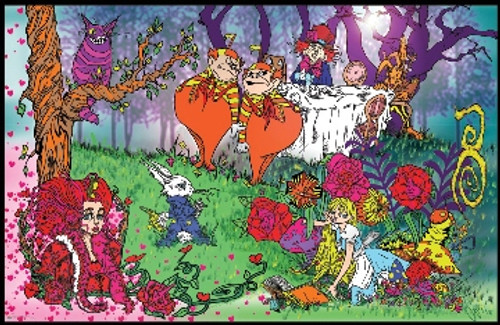 Adventure In Wonderland - Brandon Mills Poster 36in x 24in Image