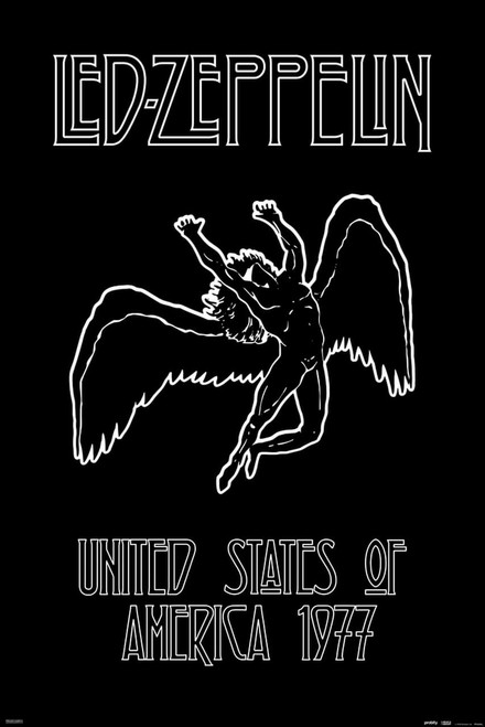 """Led Zeppelin - Icarus Poster 24"""" x 36"""""""