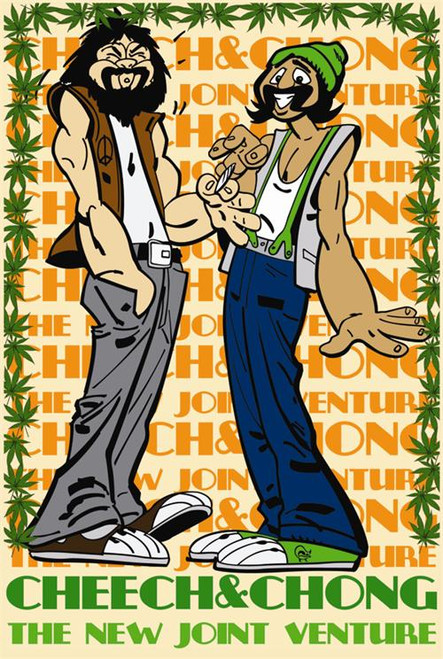 Cheech & Chong - Joint Venture Poster 24in x 36in Image