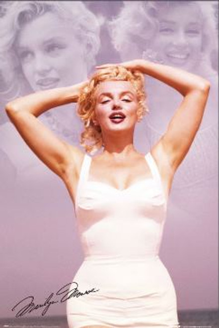 Marilyn Monroe - Collage Poster 24in x 36in Image