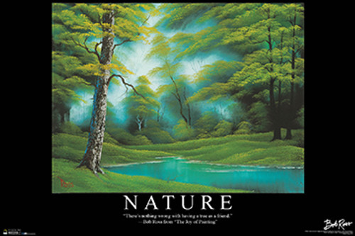 Nature - Bob Ross Poster 36in x 24in Image