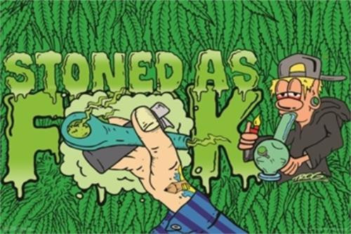 Stoned - Trog Poster 36in x 24in Image