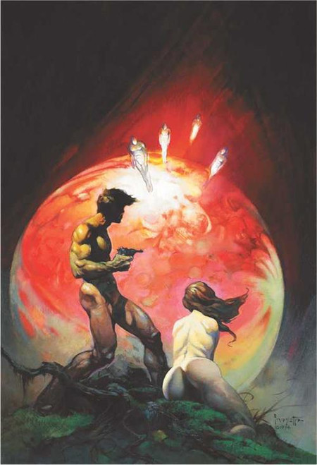Red Planet By: Frank Frazetta Poster 24in x 36in Image