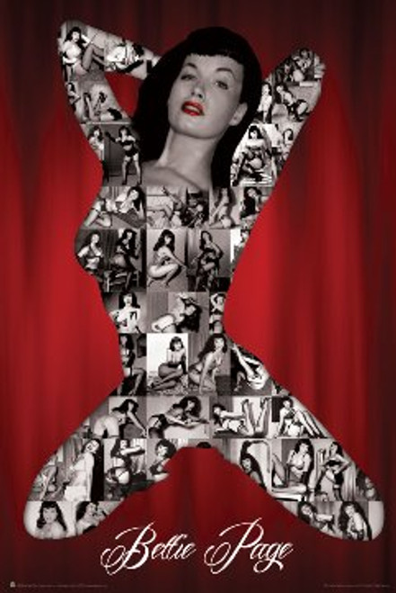 Bettie Page - S&M Poster 24in x 36in Image