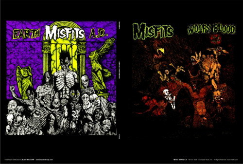 Misfits Earth A.D./Wolfsblood Album Poster 36in x 24in Image