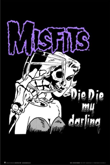 Misfits Die Die My Darling Poster 24in x 36in Image