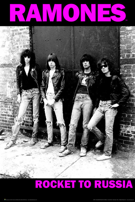 Ramones Rocket To Russia Poster 24in x 36in Image