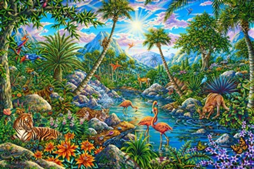 Discovery Kingdom - Michael Fishel Poster 36in x 24in Image