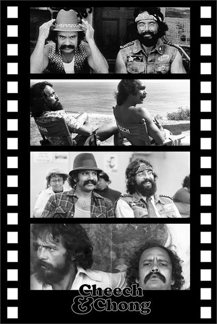Cheech & Chong - Film Strip Poster 24in x 36in Image
