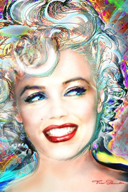 Marilyn Monroe - Electric Poster 24in x 36in Image