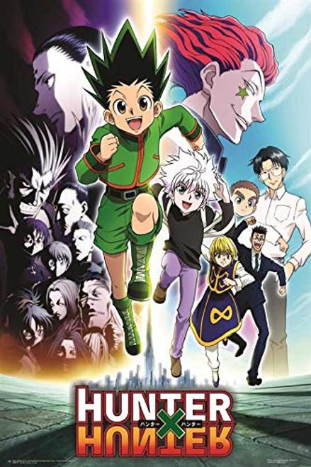 """Hunter X Hunter Anime Poster - Group - 24"""" x 36"""" Image"""