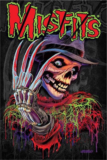 Misfits Nightmare Fiend Poster 24in x 36in Image