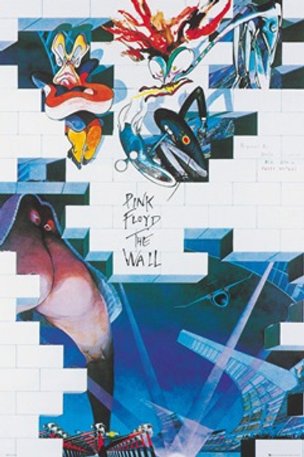 Pink Floyd The Wall Album Poster 24in x 36in Image