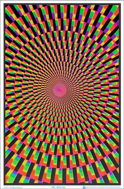 Minds Eye Blacklight Poster Image